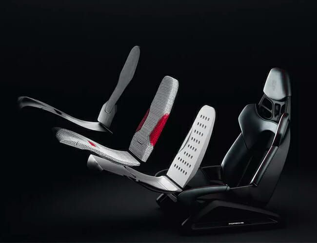 Porsche Is Using 3D-Printing to Make Better Seats for Its Sports Cars