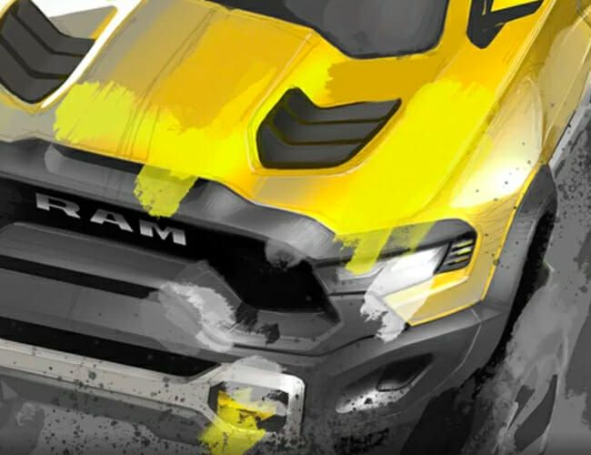 Ram's New Hellcat-Powered Pickup Truck Looks Ready to Eat the Ford Raptor
