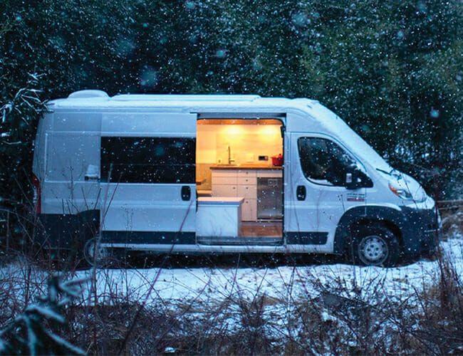 Tesla Batteries Make This Camper Van Perfect for Off-Grid Living