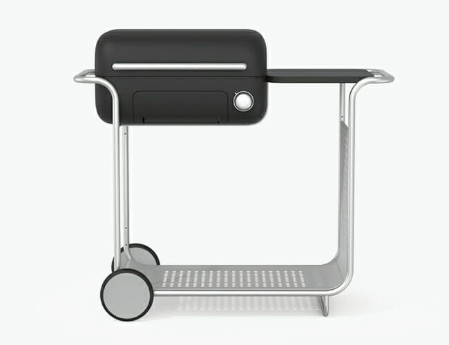 This Grill Offers an Entirely New Take on Charcoal Grilling