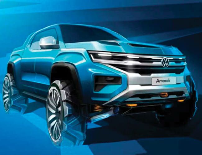 VW Just Gave Us a Glimpse of Its Badass Ford Ranger-Based Pickup