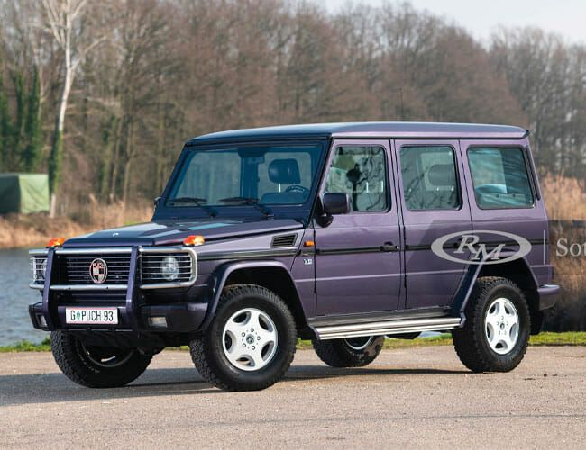 One of the Rarest G-Wagens in Existence Is Up for Auction