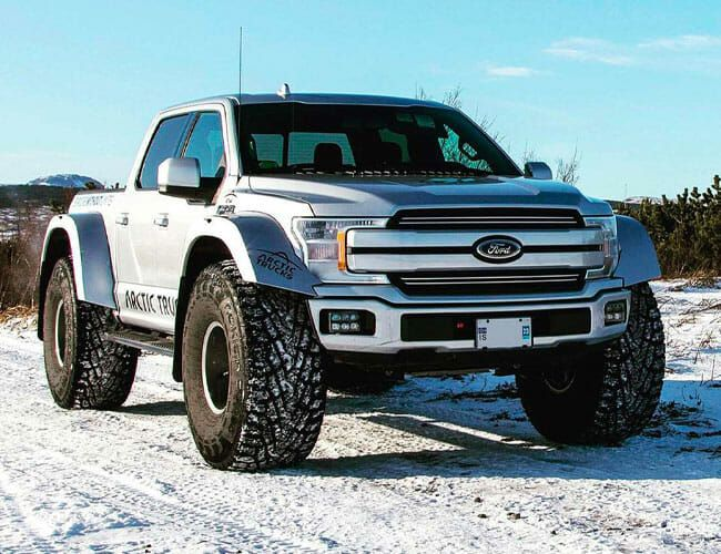 This Arctic-Ready Ford F-150 Is Extreme Overkill, But We Still Want It