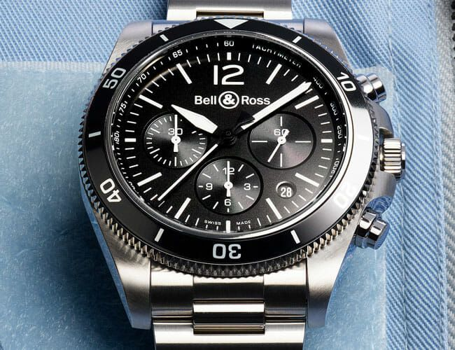 A Monochromatic Finish Gives This Sporty Chronograph Watch Its Best Look Yet