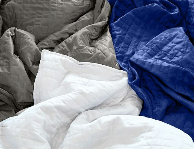 Weighted Blankets Burn Away Anxiety. Here Are the Best Ones