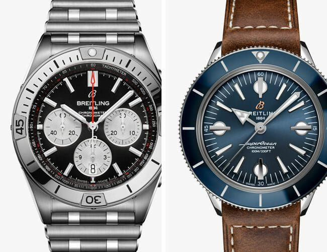 Breitling Has Introduced New Retro-Styled Chronograph and Dive Watches