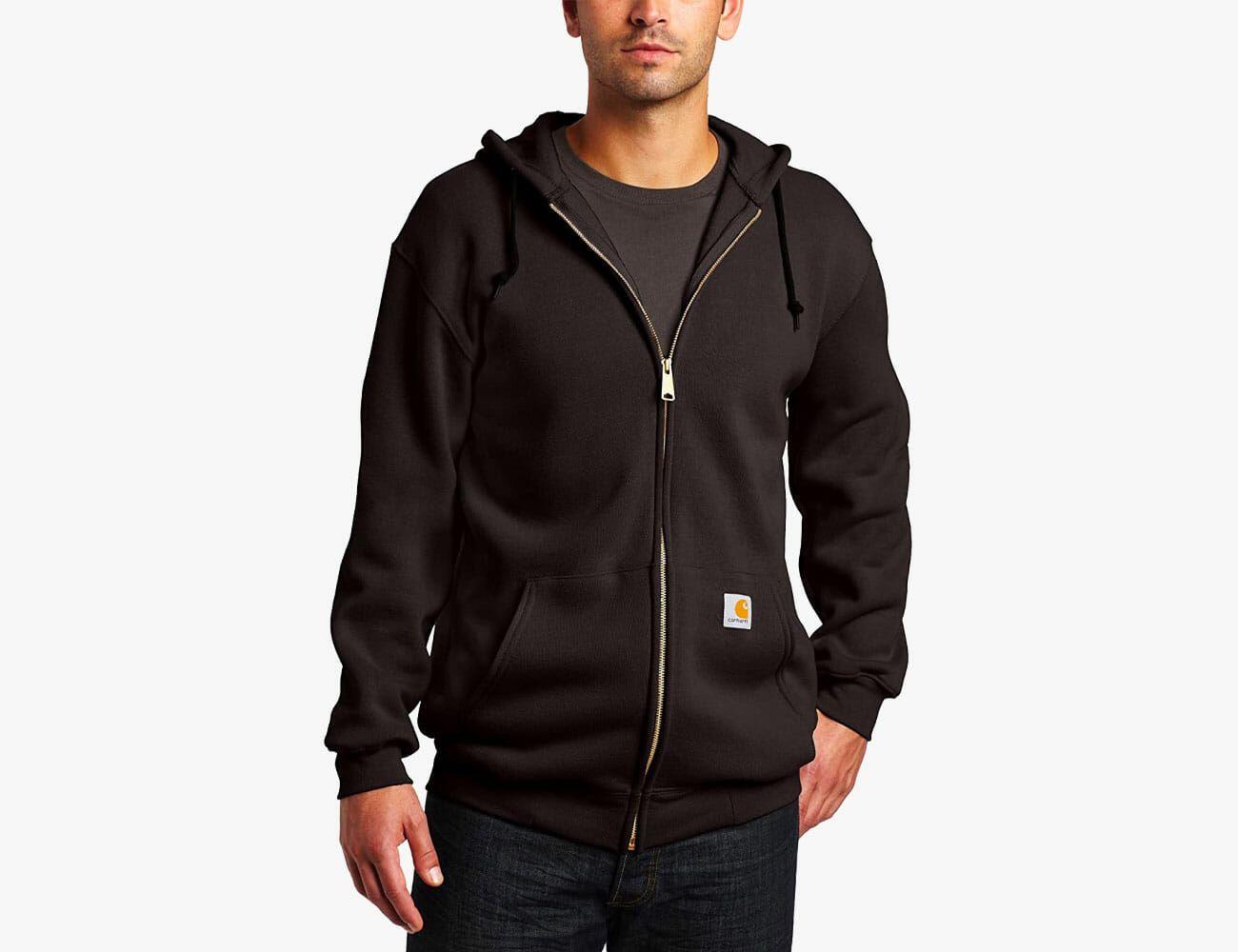 Mens Classic Pullover Hoodie Sweatshirt,Live My Best Life Print