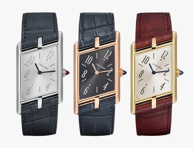 Cartier Just Brought Back One of the Coolest Versions of Its Iconic Dress Watch