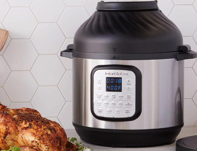 How a Famous TV Chef Became an Instant Pot Convert