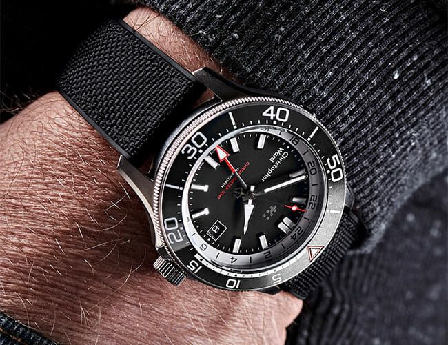 This Titanium Timepiece Is a GMT Watch for Serious Divers