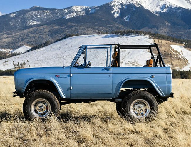 Help People in Need by Entering to Win This Tesla-Powered Electric Ford Bronco