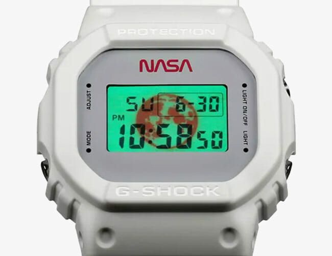 G-Shock's New NASA Watch Will Awaken Your Inner Space Nerd