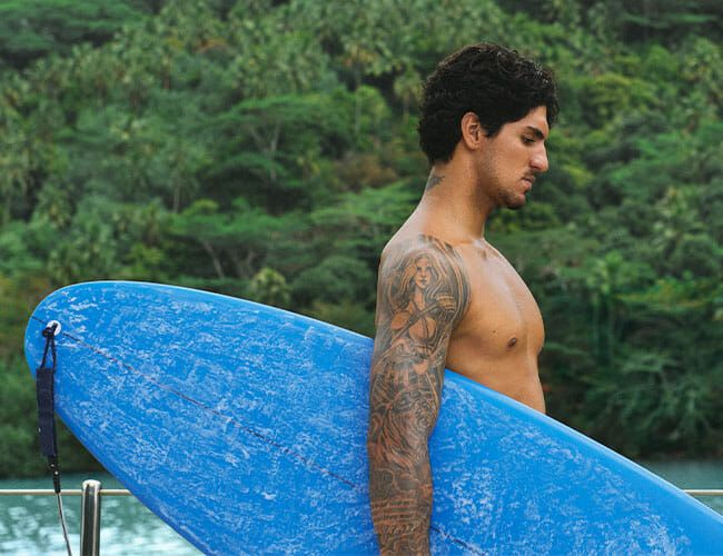 The No-Nonsense Grooming Routine of a World Champion Surfer