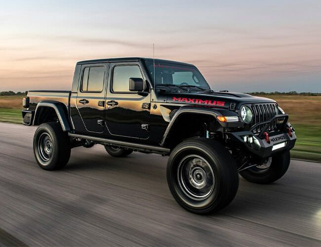 Here's Your Chance to Buy a Rare Hellcat-Powered Jeep Gladiator