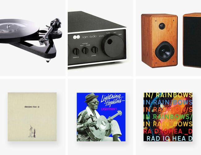 A NYC Record Shop Owner Shares His Home Hi-Fi System