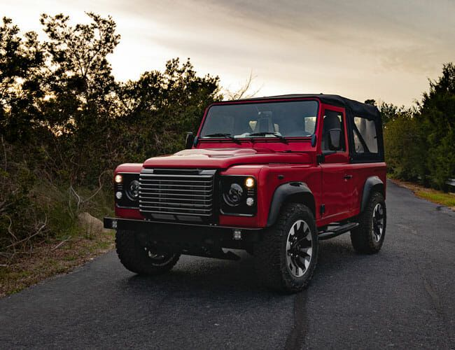This Exquisite Himalaya Land Rover Defender Offers a Taste of Forbidden Fruit