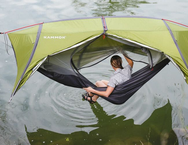 This New Tent Makes Sleeping in the Woods More Fun