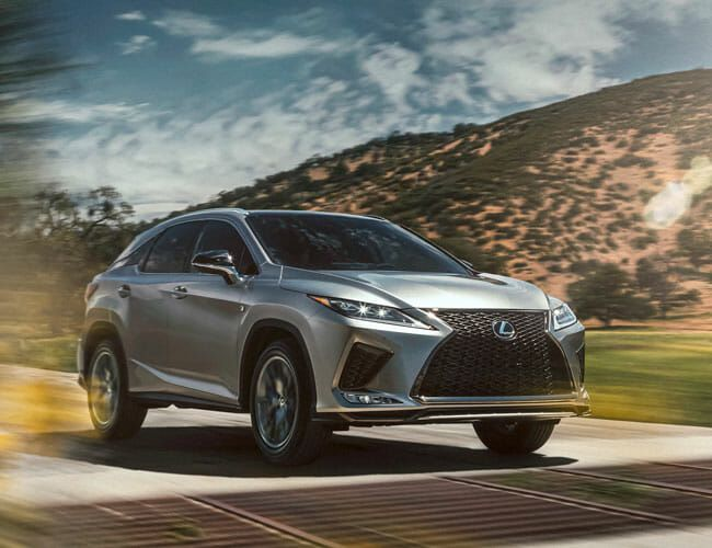 The Lexus RX 350 F Sport Is a Sharp-Dressed Crossover