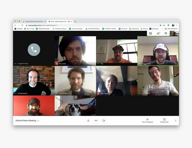 How to Bring Zoom's Best Feature to Google Video Chats
