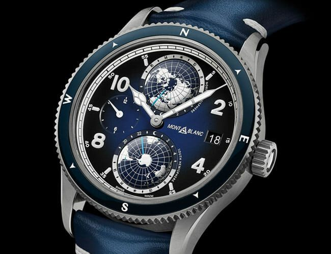 Icy Blue Dials and Titanium Cases Make These Complicated New Watches Pop