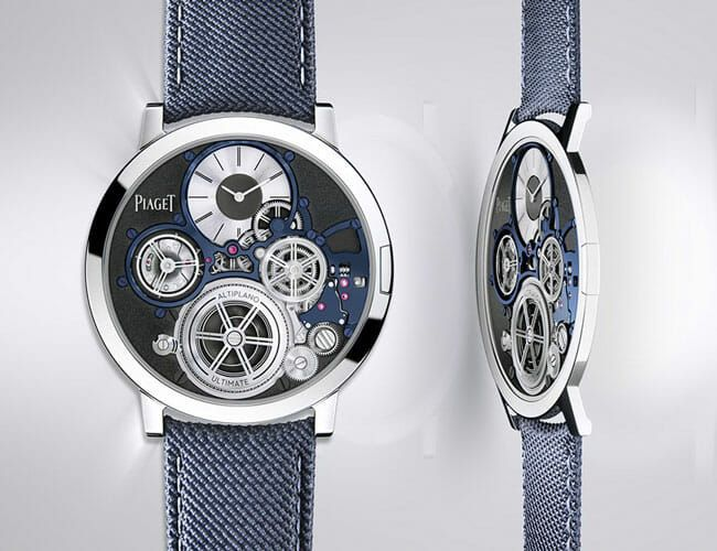 The World's Thinnest Mechanical Watch Is Now Available for Purchase