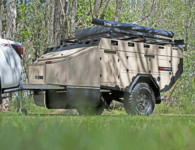 This Cheap, Rugged Camping Trailer Can Follow the Toughest Off-Roaders Anywhere