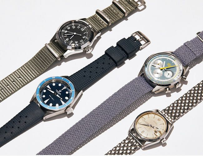 4 Summer Straps Every Watch Guy Should Keep in His Arsenal