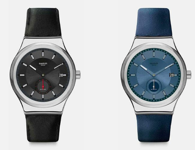 Swatch's Inexpensive Automatic Watch Is Available in a Refined New Version