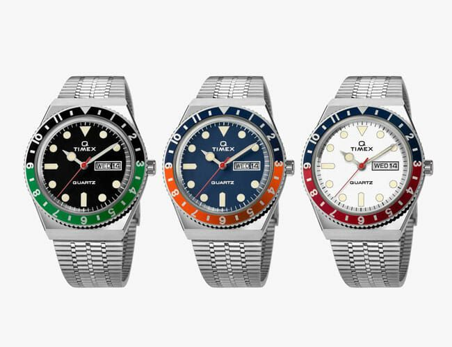 Timex's Ultra-Popular, Affordable Throwback Watch Comes In Three New Styles