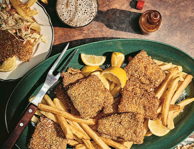 How to Make Fish and Chips Like One of America's Best Diners