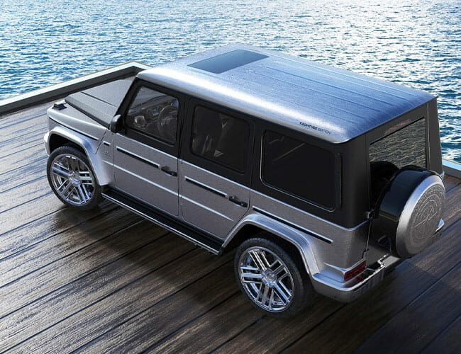 This Custom Mercedes G-Wagen Might Be the Fanciest Off-Roader on Earth