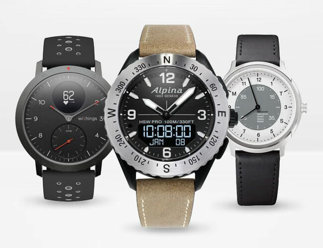 These 10 Hybrid Smartwatches Marry Traditional Looks With Wearable Tech