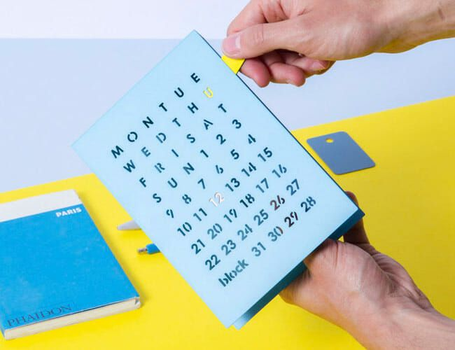 Can't Remember What Day It Is? These Satisfying Calendars Will Save You