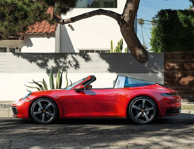 The New Porsche 911 Targa Combines Coupe Style and Convertible Breezes
