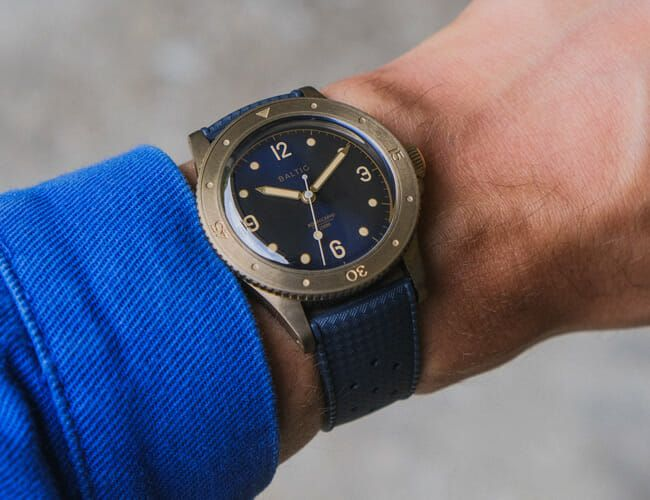 This Vintage-Inspired Dive Watch Is Now Available in Bronze