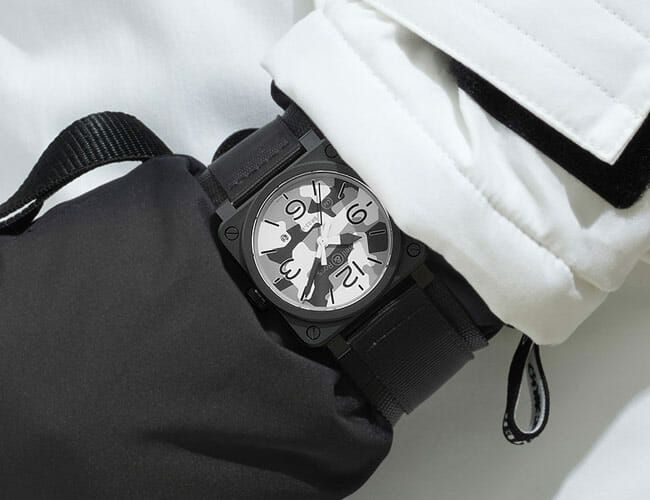 Your New Skiing Watch Should Be This Camouflaged Bell & Ross