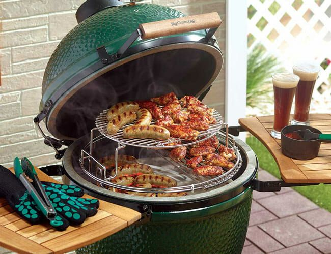 Big Green Egg's Mega-Popular Grills Are (Finally) Available Online