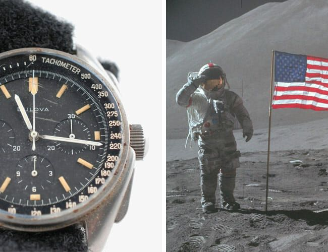 This Watch Is Not an Omega Speedmaster. So How Did It End Up on the Moon?