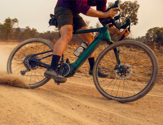 A Powerful Motor Is Hardly the Most Exciting Thing about This New Gravel E-Bike