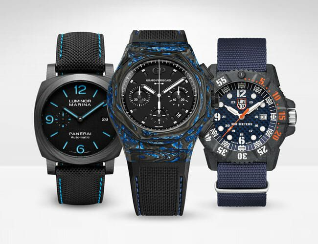Carbon Fiber Watches Aren't a Gimmick. They're Lightweight, Tough and Cool-Looking