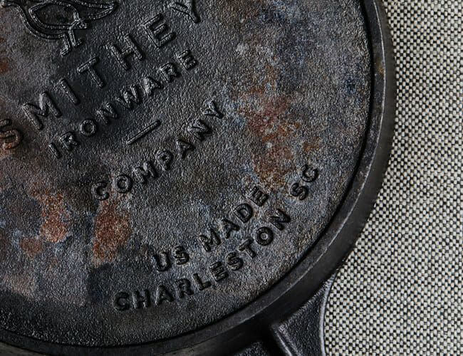There's a Very Tricky Ring on the Bottom of Your Cast-Iron Skillet. What's It for?