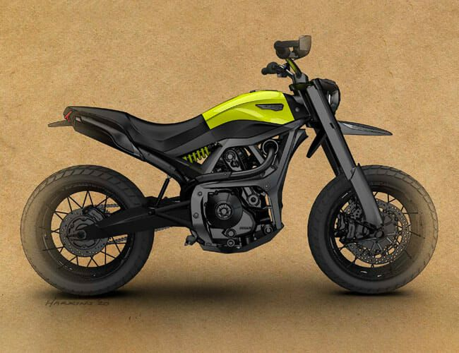Will This Be the Ducati Scrambler of the Future?