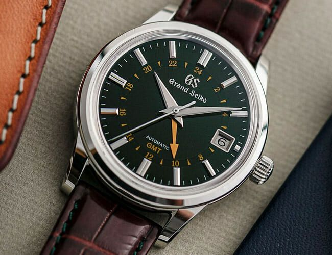 Grand Seiko's GMT Watch Gets a Striking New Green Dial