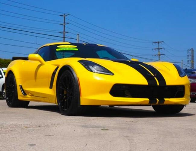 This Yellow Corvette Z06 Is the Best Used Sports Car Deal You'll Find Today