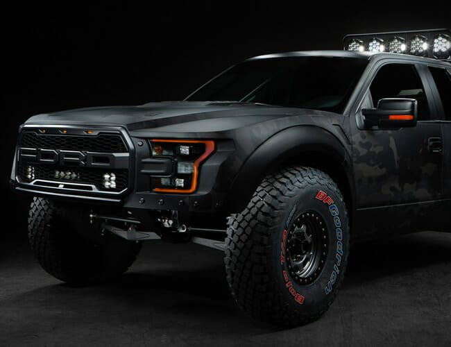This Ford F-150 Raptor Is Not What It Seems. It's So Much Cooler