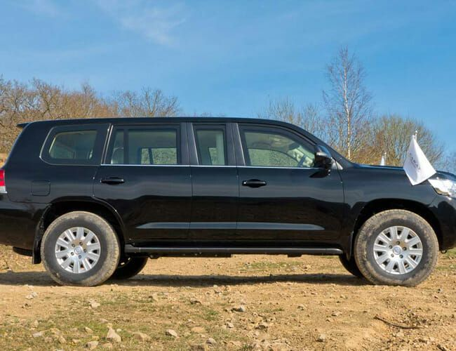 Need a Bulletproof Off-Road Limo (For Some Reason)? Try This Toyota Land Cruiser
