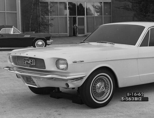 The Ford Mustang Could Have Looked Extremely Weird