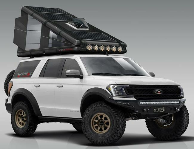 This Wild Pop-Up Rooftop Camper Is Basically a Super-Light, Nearly-Indestructible Tent