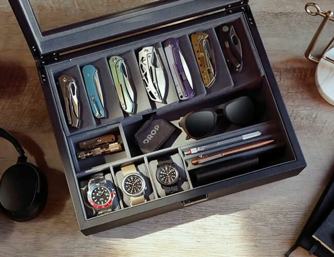 Need an Affordable Way to Store Your Watches, Knives and EDC? Look No Further