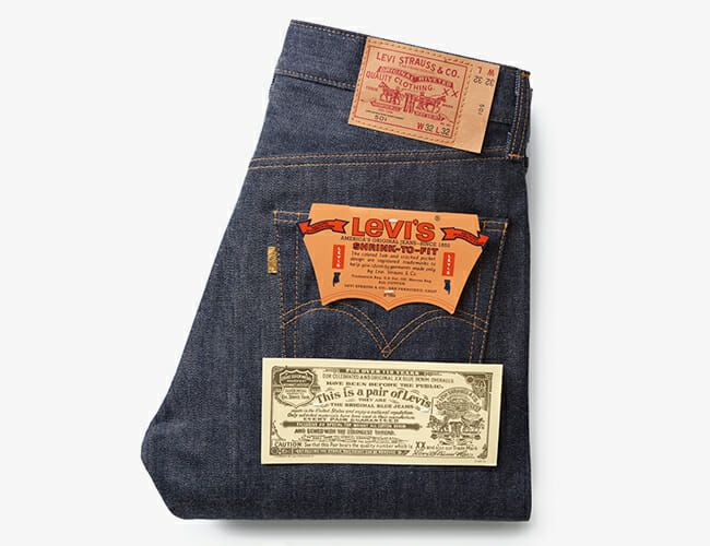 Levi's Is Releasing a Pivotal Pair of Jeans, Willy Wonka Style